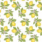 ткань рулонная лимоны