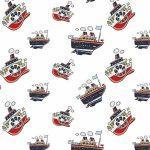 рулонные-шторы-в-детскую-кораблики