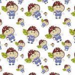 рулонные шторы в детскую грибочки
