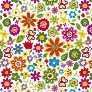 рулонные шторы в детскую цветочки