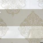 Зебра ткань белая с рисунком