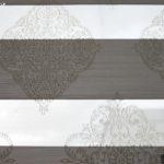Зебра ткань серая с рисунком