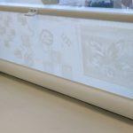 Рулонные жалюзи на пластиковые окна Уни-2 с пружиной