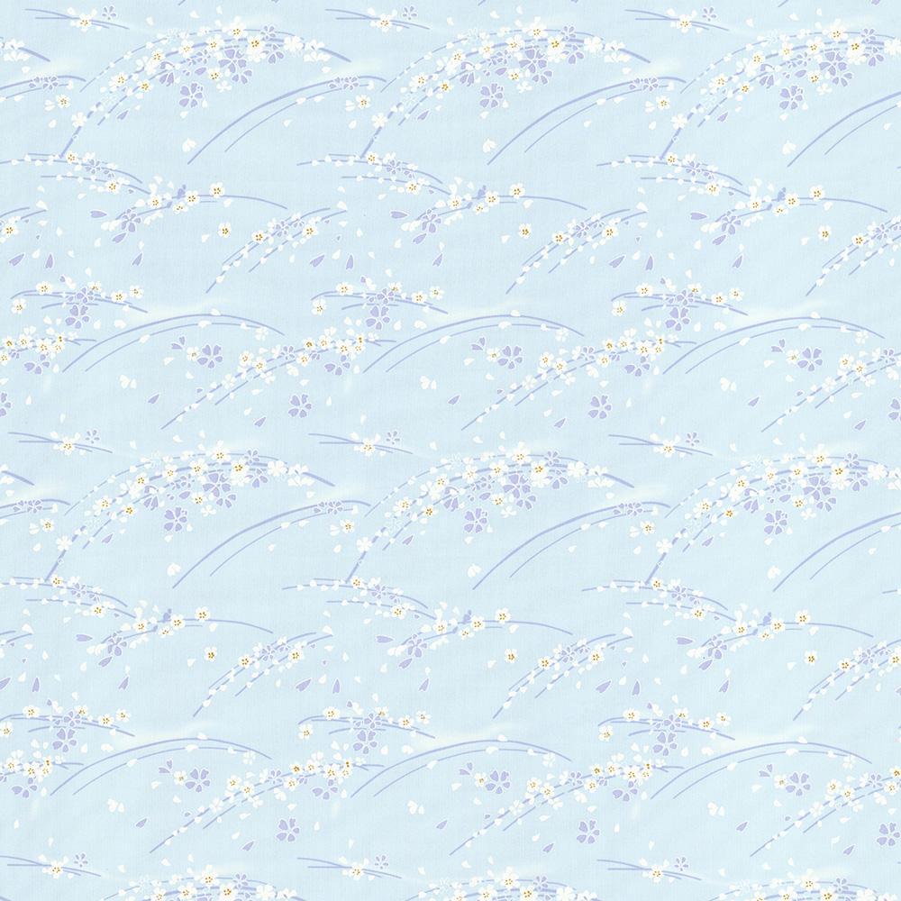 сакура-голубой