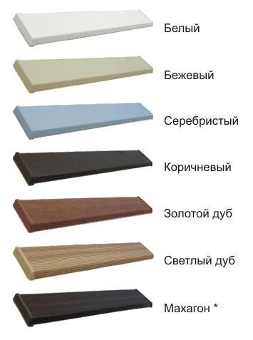 жалюзи изолайт цвета комплектации