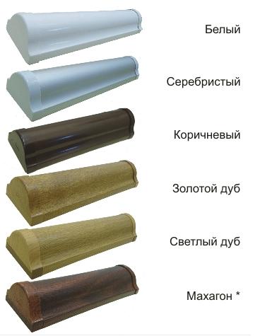 цвета комплектации