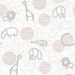 рулонные шторы в детскую африка