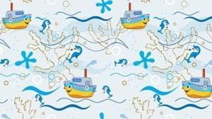 рулонные-шторы-в-детскую-весёлый-кораблик