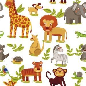 рулонные шторы в детскую цветная африка