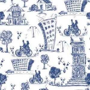 рулонные-шторы-в-детскую-домики-рисованые