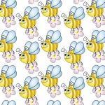 рулонные-шторы-в-детскую-пчёлки