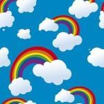 рулонные-шторы-в-детскую-небо-радуги