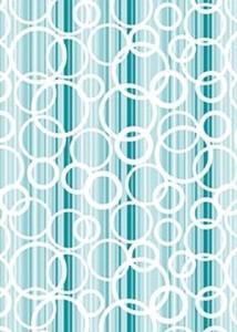 рулонные шторы в детскую голубые пузырики