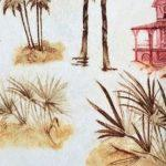 Ткани рулонные Флора