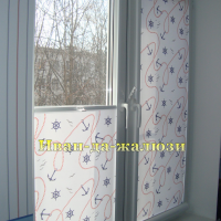 детские шторы снизу-вверх