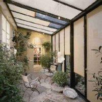 На потолочные окна и в зимние сады.